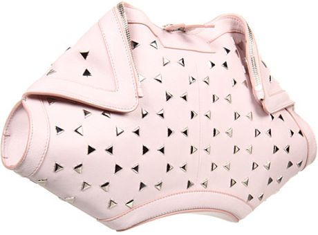 Alexander Mcqueen De Manta Clutch Citycity Optical in Pink (i) - Lyst