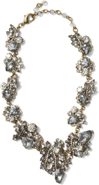 Club Monaco Erickson Beamon Necklace in Silver (burnished gold) - Lyst