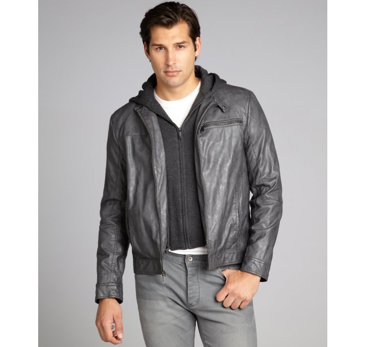 clothing shoes jewelry men clothing jackets coats leather faux leather