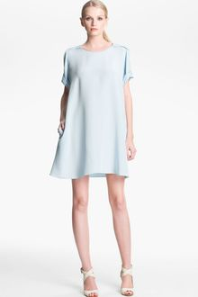 3.1 Phillip Lim Pleated Sleeve Silk Dress - Lyst