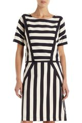 Marc By Marc Jacobs Multistripe Dress - Lyst