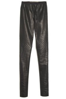 Rick Owens Leather Leggings - Lyst