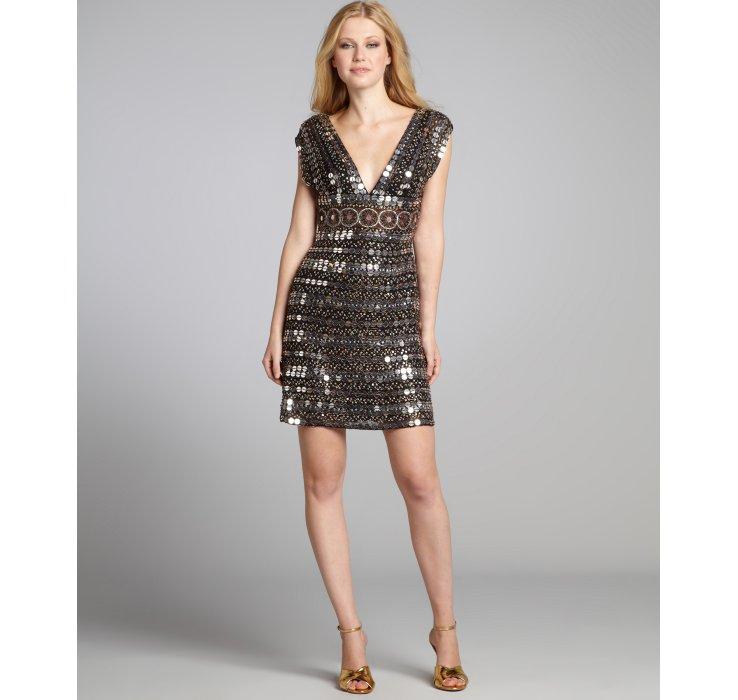 Bronze Cocktail Dress