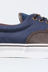 Vans The Era 59 Sneaker in Brown Dress Blues in Brown for Men - Lyst