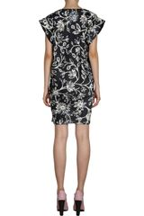 Balenciaga Iris Tunic Dress in Black - Lyst