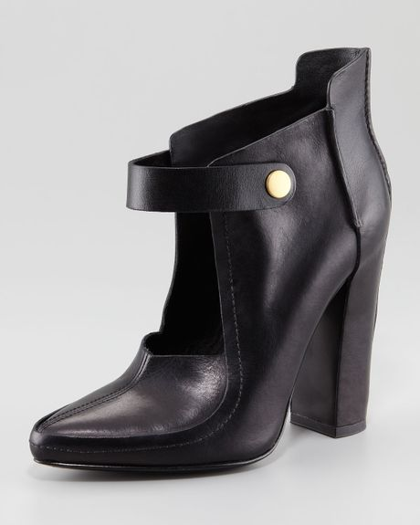 Alexander Wang Kamila Runway Mary Jane Bootie in Black - Lyst