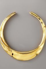 Alexis Bittar Gold Orbiting Collar Necklace - Lyst