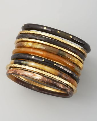 Ashley Pittman Bamba Bangle Set - Lyst