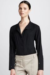 Donna Karan New York Jerseyback Bodysuit - Lyst