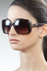 Jimmy Choo Severine Square Sunglasses - Lyst
