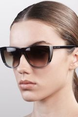 Marc Jacobs Oversized Ombre Sunglasses - Lyst