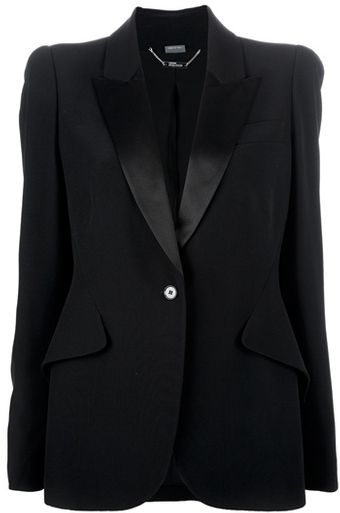 Alexander McQueen Single Button Blazer - Lyst