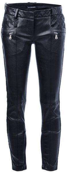 Balmain Skinny Fit Touser in Black