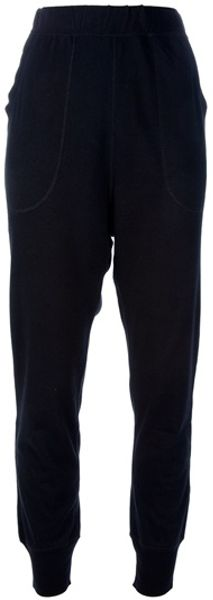 Cats By Tsumori Chisato Cat Pocket Track Pant in Black - Lyst