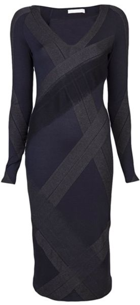 Donna Karan New York Collage Dress - Lyst