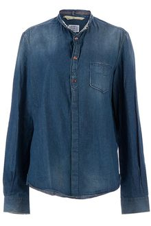 Golden Goose Deluxe Brand Washed Denim Shirt - Lyst