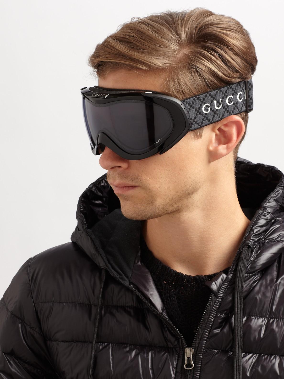 Gucci Ski Goggles In Black For Men Lyst
