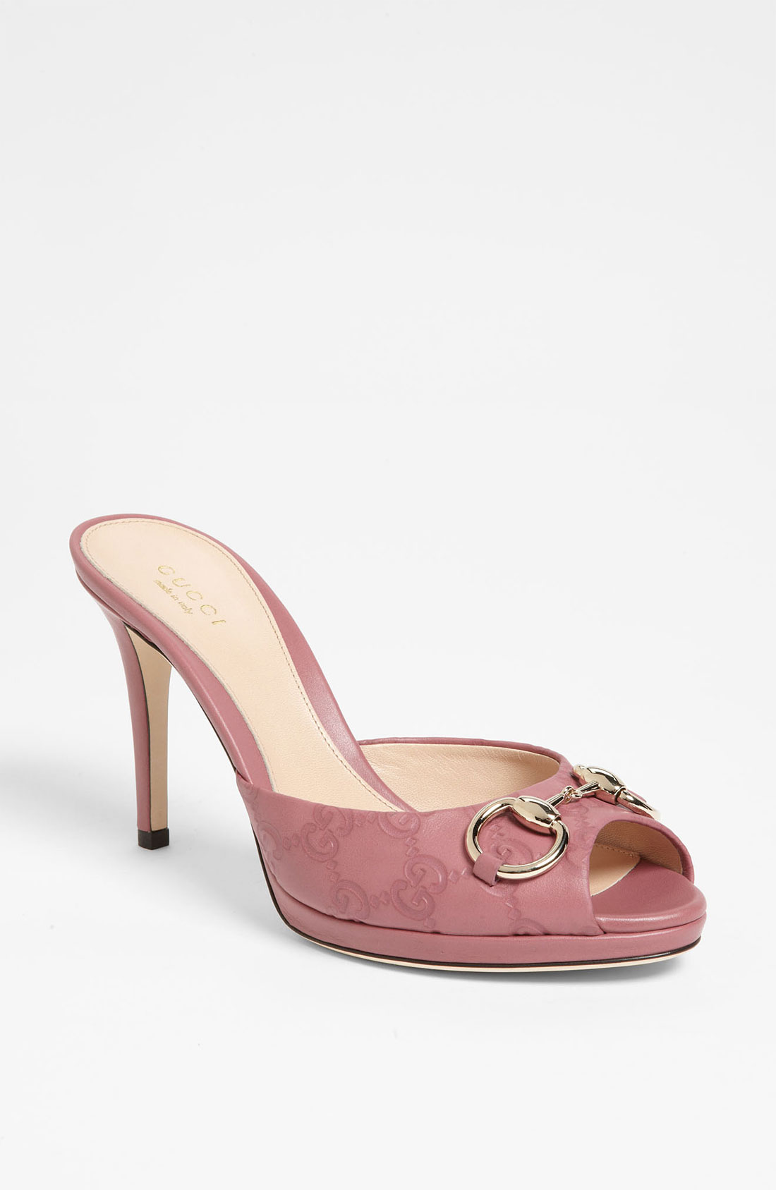 Gucci New Hollywood Slide in Pink | Lyst