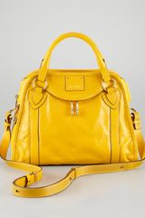 Marc Jacobs Classic Wellington Satchel Bag Yellow - Lyst