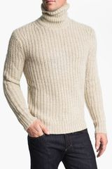 Michael Kors Alpaca Blend Turtleneck Sweater - Lyst