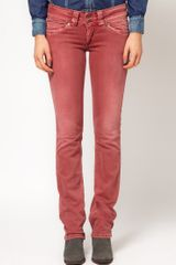 Pepe Jeans Colored Jeans - Lyst