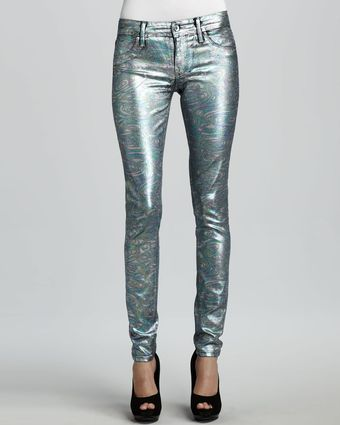 Sinclair Coe Mystic Moon Swirl Metallic Leggings - Lyst
