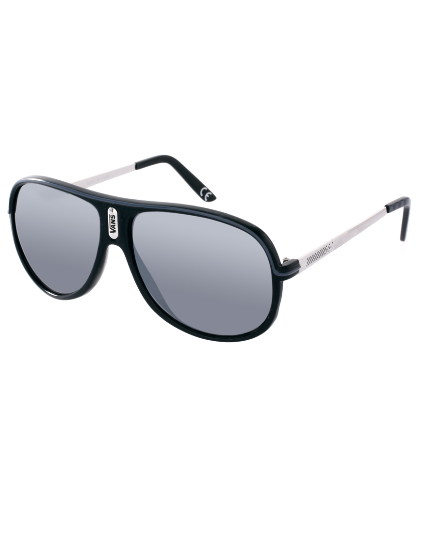 Vans Aviator Sunglasses in Black for Men | Lyst