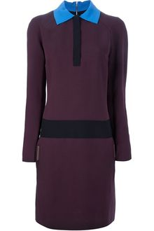 Victoria Beckham Tunic Dress - Lyst