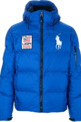 Ralph Lauren Blue Label Padded Jacket - Lyst