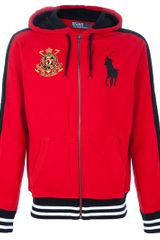 Ralph Lauren Blue Label Embroidered Hoodie - Lyst