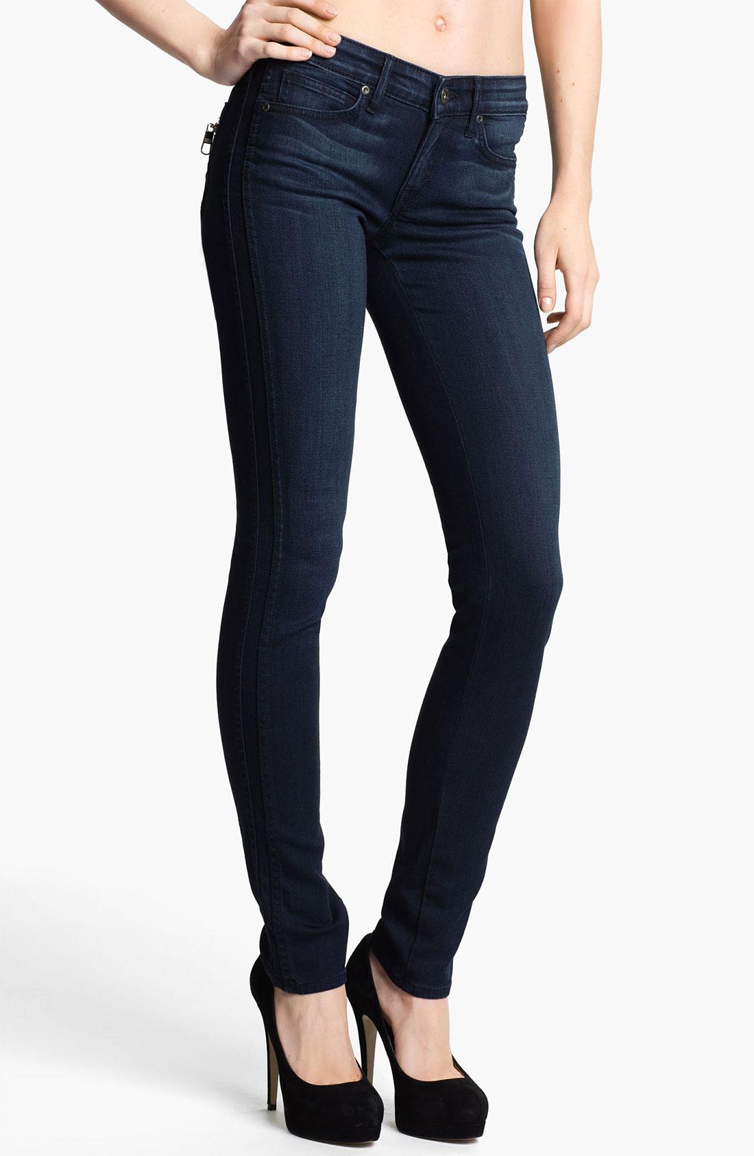 Rich & Skinny Tuxedo Skinny Jeans in Blue (zeus)