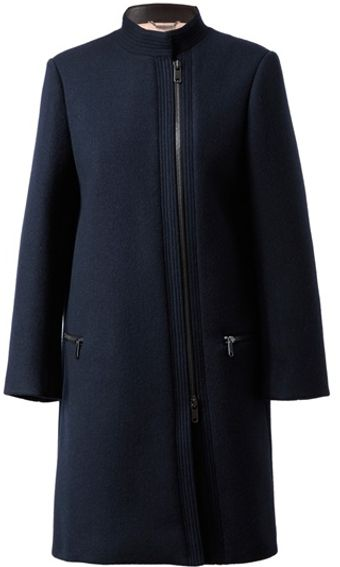 Chloé Tailored Woolangora Coat - Lyst
