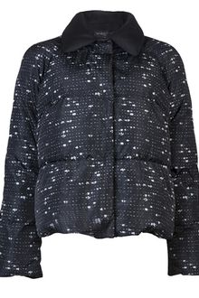 Giambattista Valli Tweed Print Padded Jacket - Lyst