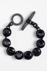 Juicy Couture Glam Rocks Station Bracelet - Lyst