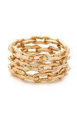 Kelly Wearstler Bent Link Ring Set - Lyst