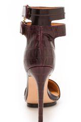 L.a.m.b. Oxley Pumps in Brown (wine) - Lyst