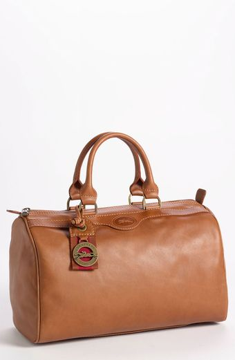 Longchamp Au Sultan Leather Satchel - Lyst