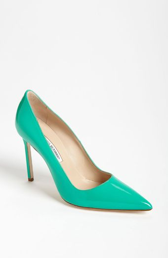 Manolo Blahnik Bb Pointy Toe Pump - Lyst