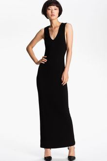 T By Alexander Wang Long Matte Jersey Tank Dress - Lyst