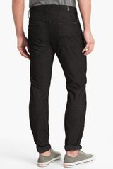 7 For All Mankind Slimmy Slim Straight Leg Corduroy Pants - Lyst
