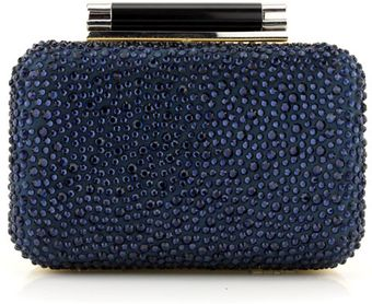 Diane Von Furstenberg Starry Night Small Crystal Tonda Clutch - Lyst