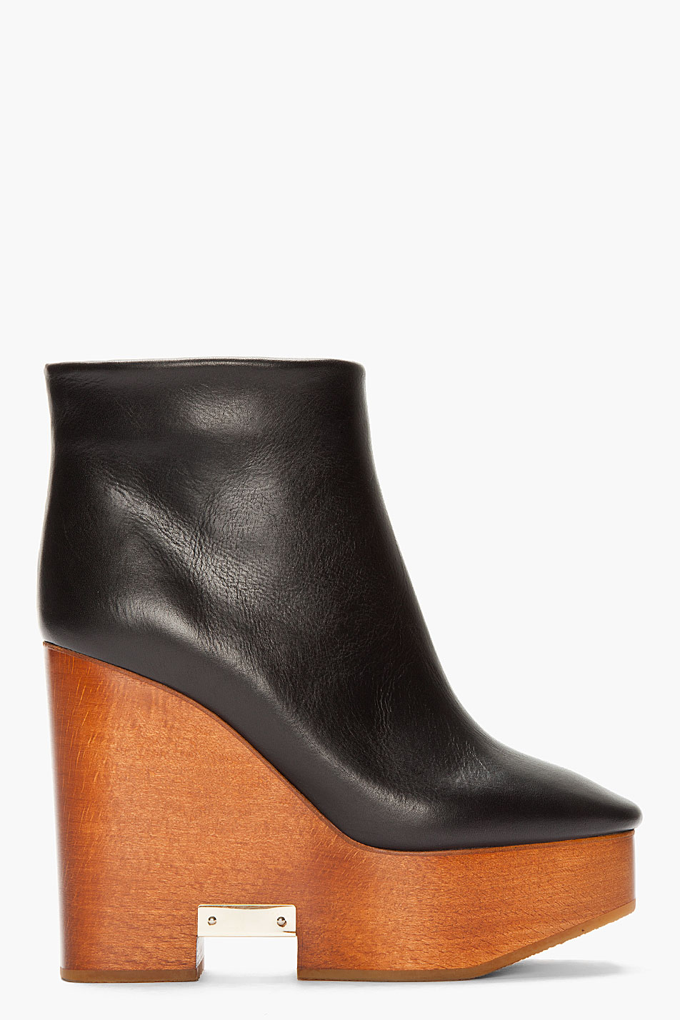 Chloé Leather Platform Boots buy cheap online buy cheap find great hwI3ElACY