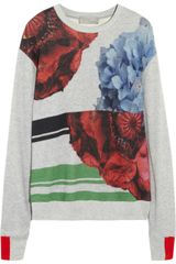 Preen Printed Cotton Sweatshirt - Lyst