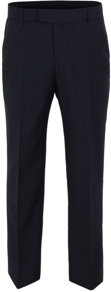Racing Green Navy Hopsack Trouser in Black for Men (navy) - Lyst