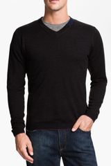 Robert Graham Forest Vneck Wool Sweater - Lyst