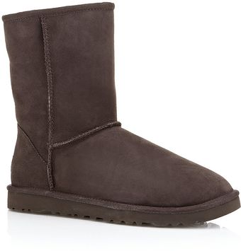 Ugg Short Chocolate Boot - Lyst
