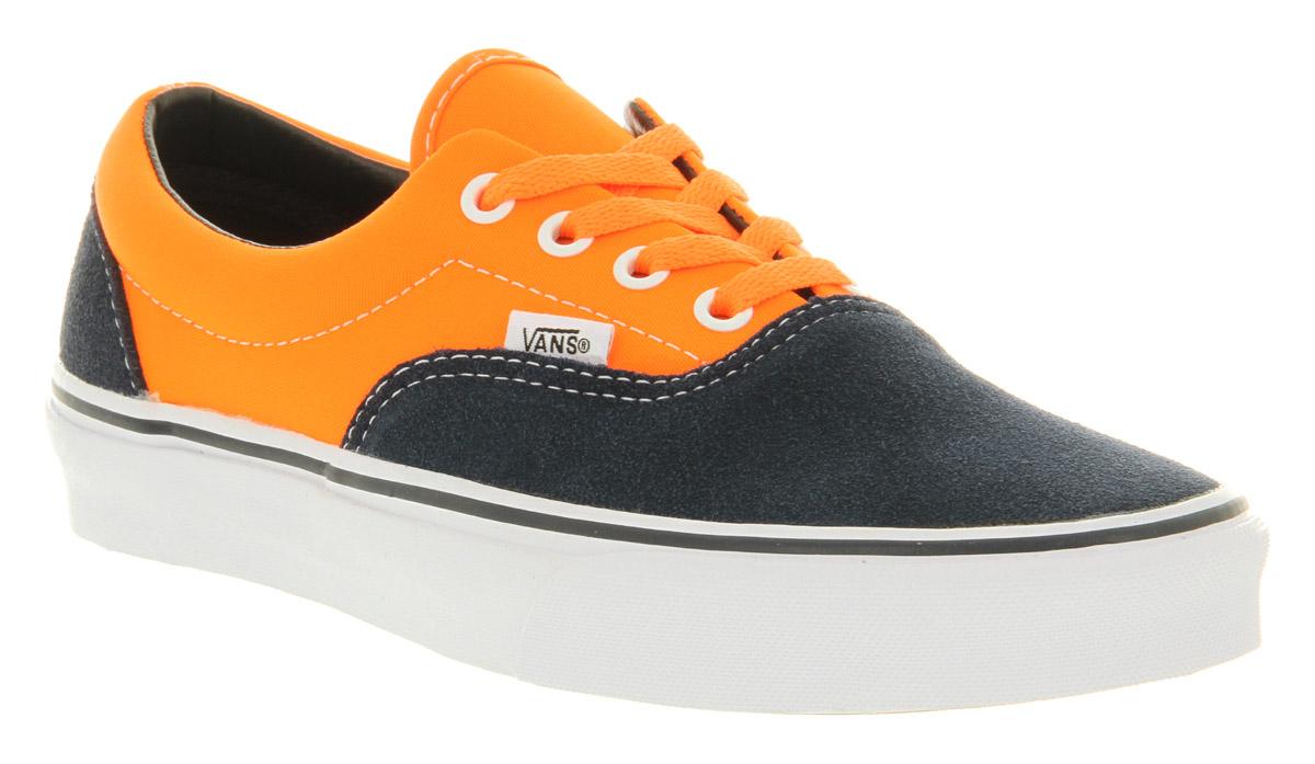 d4973c5cc2e5 Lyst - Vans Era Neon Orange Dress Blue in Orange for Men