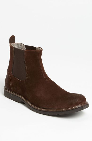 Wolverine Hartley Chelsea Boot in Brown for Men (dark brown) - Lyst