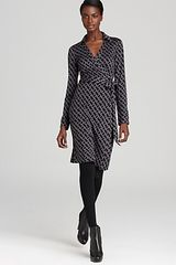 Diane Von Furstenberg New Jeanne Two Wrap Dress - Lyst