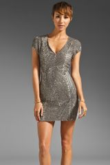 Parker Ombre Sequin Dress - Lyst